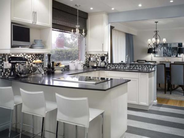 Luv decor 12 ideias para cozinha americanas for Kitchen 0 finance b q