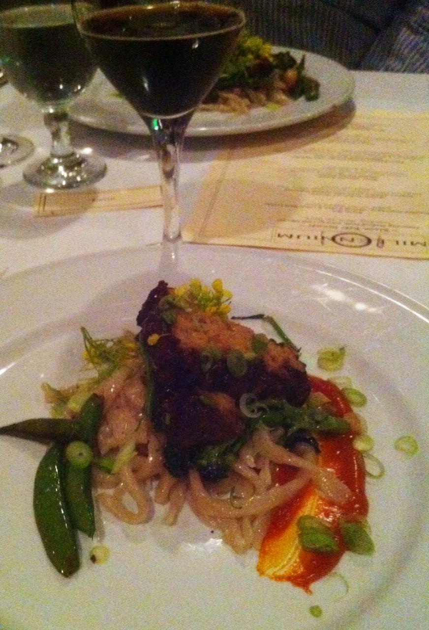 Allbrews beyond pub grub vegan food at millennium with for Bar food vegetarian