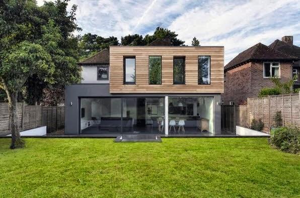 Fachadas de casas modernas fachadas de casas modernas - Fachadas de casas modernas 1 piso ...