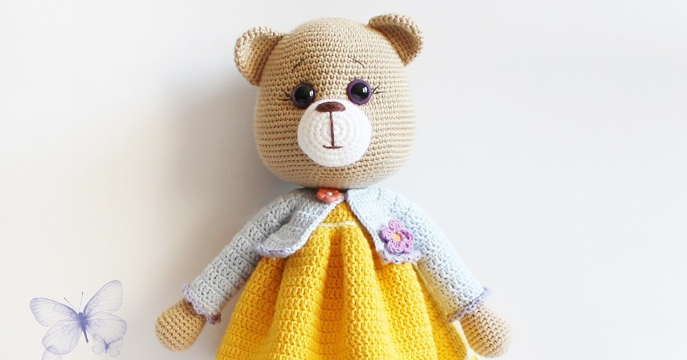 Amigurumi Bear Maya : Amigurumi Ayi Maya -Amigurumi Bear Maya Tiny Mini Design