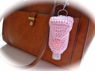 Crochet Pattern for Hand Gel Cover