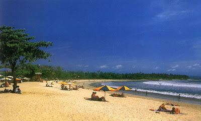 Keindahan Panorama Alam Pantai Kuta Bali