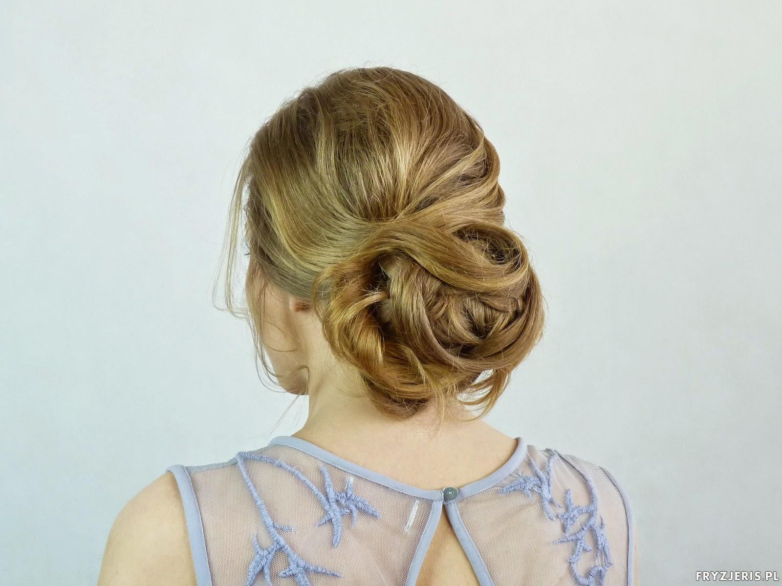 fryzura na ślub fryzjeris