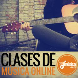 CLASES DE MÚSICA ONLINE CERTIFICADAS