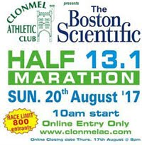 Clonmel Half-Marathon...Sun 20th Aug 2017...FULL