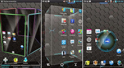 Next Launcher 3D Shell v3.7 Apk-Screenshot