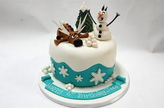 Gambar Kue Ulang Tahun Tema Frozen Untuk Anak