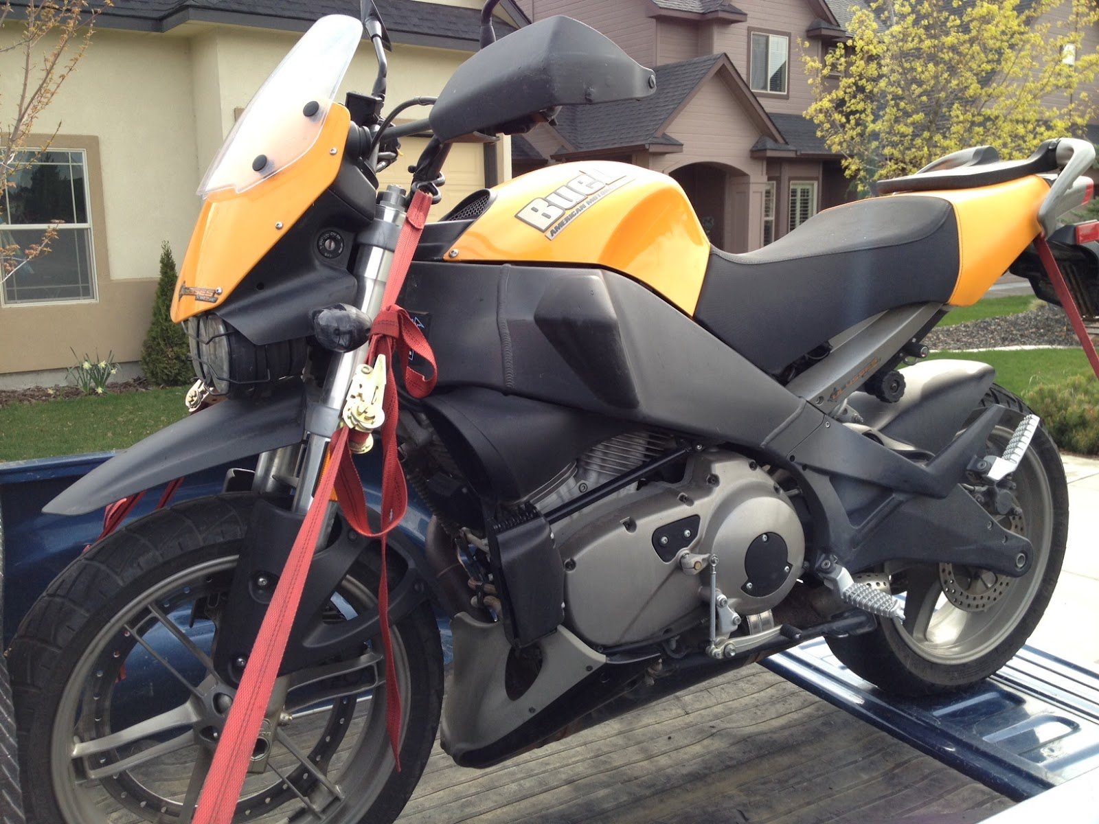 Middle Class Chops Boise: New Toy 2006 Buell XB12X Ulysses