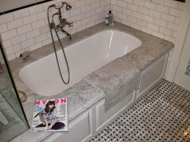 Vignette design undermount bathtubs for Wide tub