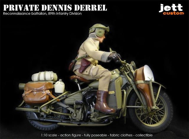 Madelman custom Harley-Davidson WLA Liberator