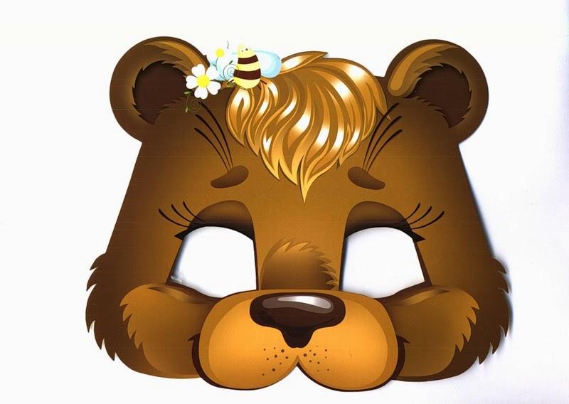 Как сделать своими руками маску медведя