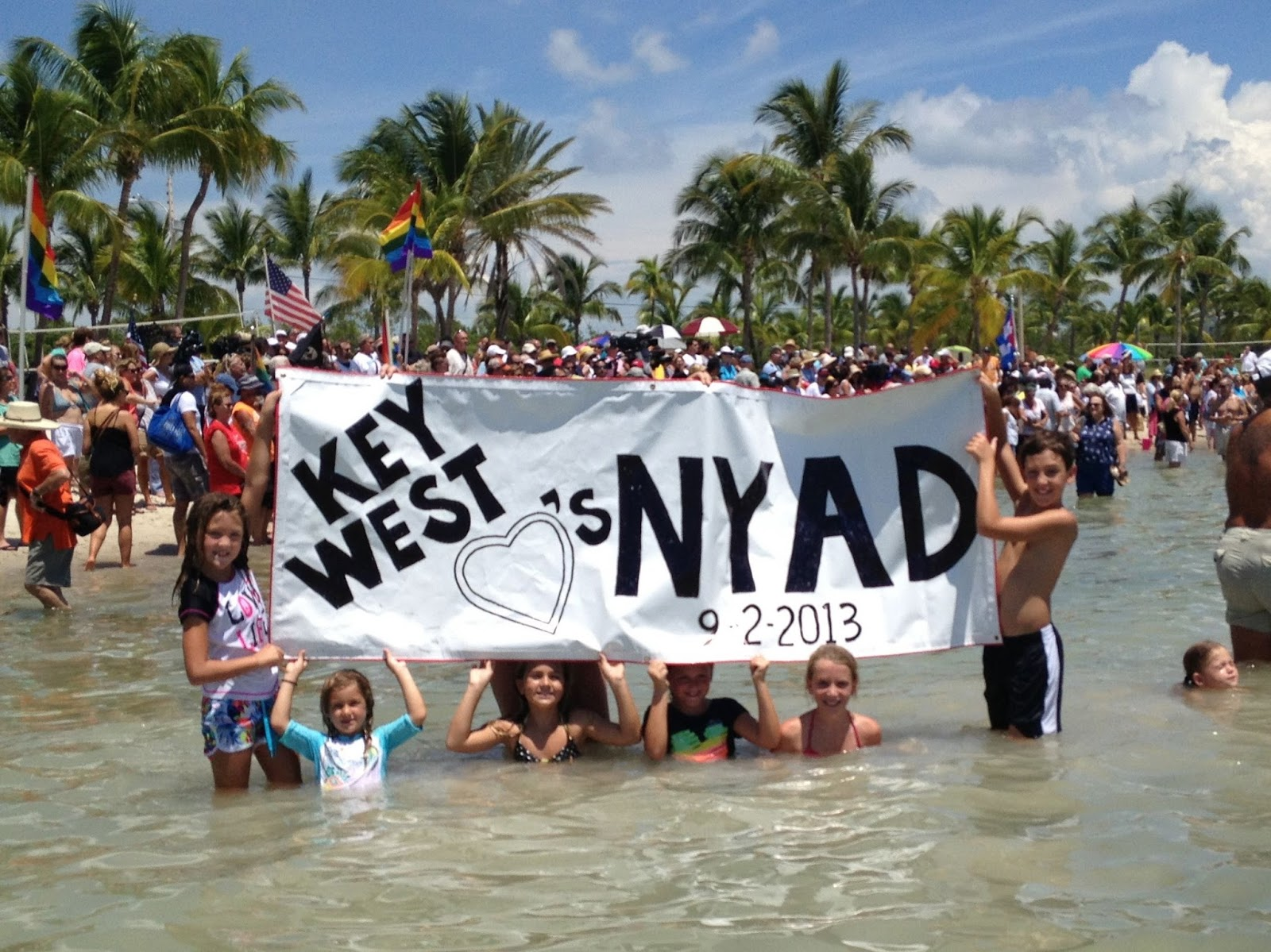 Key West loves Nyad. photo credit: Katie Leigh