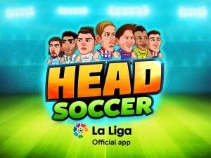 Download Head Soccer La Liga 1.0.7 Apk Mod Terbaru 2015
