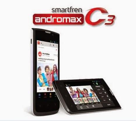 Spesifikasi dan Harga HP Smartfren Andromax C3