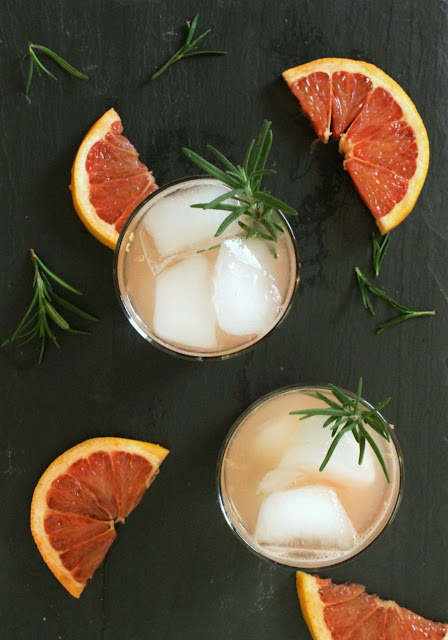 rosemary + gin + grapefruit