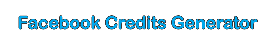 Download Facebook Credits Generator Free - 2013