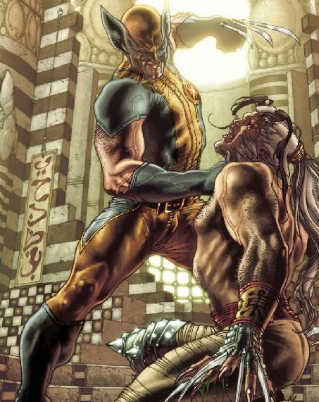 Romulus (Marvel Comics) Character Review - Wolverine Vs Romulus