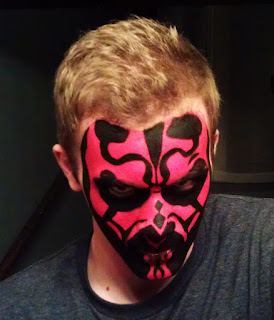 A Darker Side Face Painting