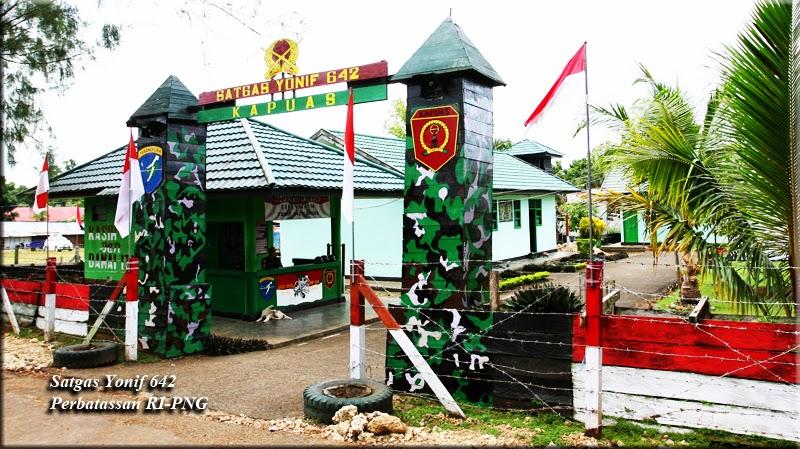 TNI bangun lima unit rumah, jalan untuk bekas OPM