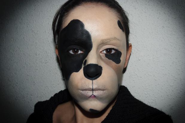 Maquillaje Carnaval 6: Perro, Carnival make up 6: Dog - SQ Beauty