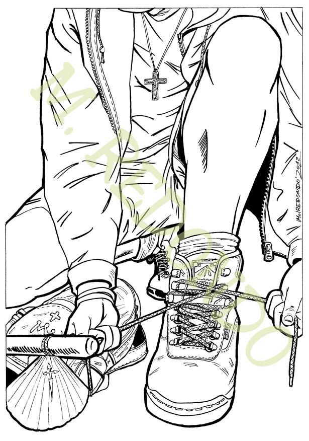 M.REDONDO- Comics: * Diseño del cartel del Camino de ...