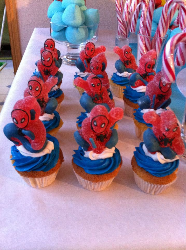 Th me spiderman archives le candy bar - Deco anniversaire spiderman ...