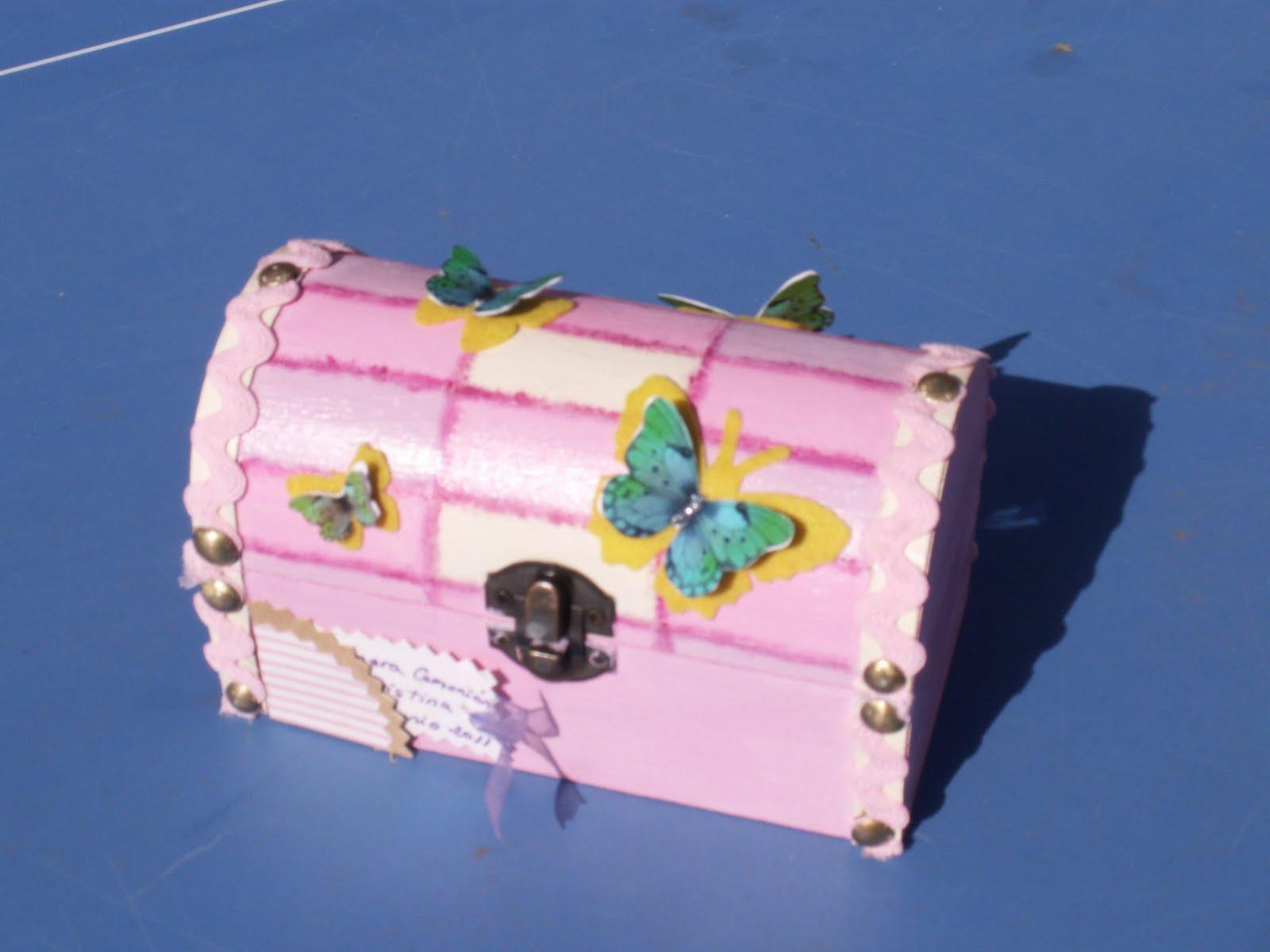 El rinconcito de sanadria cajas decoradas - Fotos de baules ...