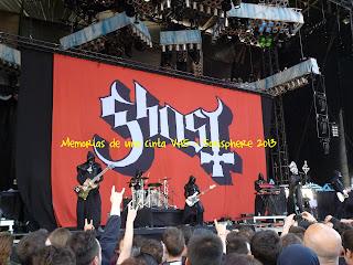 Ghost, Sonisphere 2013