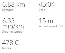 Bieg – niedziela 26 października 2014 - Matylda