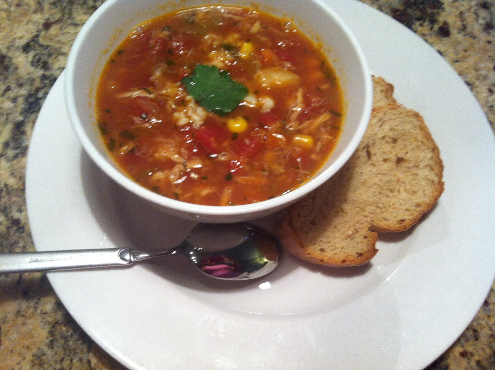 April's Cookin': Maryland Crab Soup