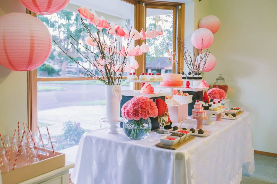 The blog an ombre japanese themed party by sugar coated mama