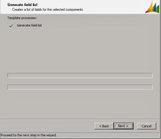 Generate field list tab