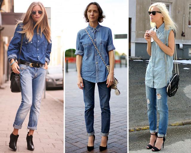 Moda tendencias actuales la tendencia del doble denim - Tendencias actuales moda ...
