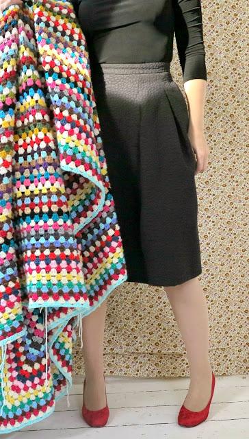 ByHaafner, crochet, giant granny square, blanket