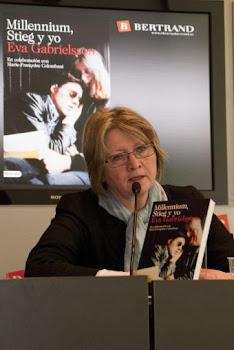 Eva Gabrielsson, viuda de Stieg Larsson, autor de la trilogía Millenium,