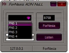 Inject Three Fornesia AON Null