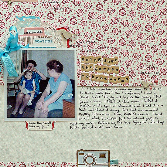 From High In The Sky scrapbooking bugs and critters for Get It Scrapped