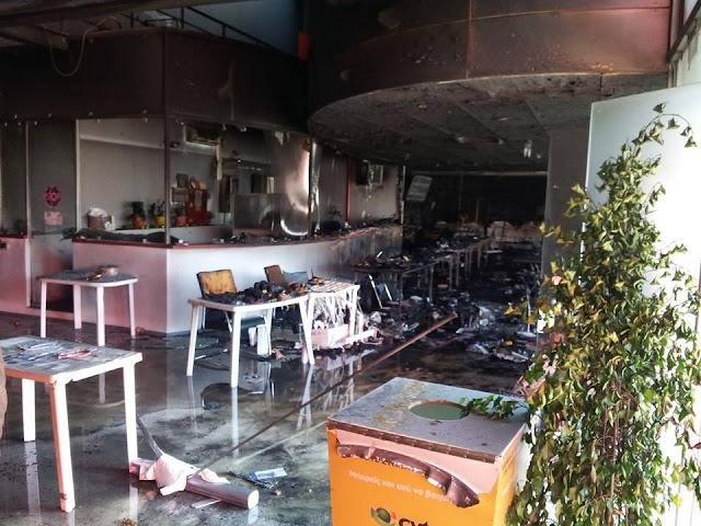 Φωτιά στο Δημαρχείο Παλλήνης - Τραγική καταστροφή