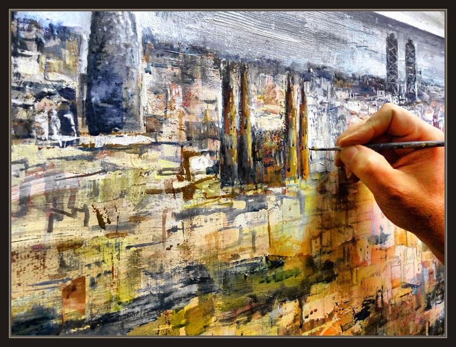 Ernest descals artista pintor barcelona pintura - Trabajo de pintor en barcelona ...