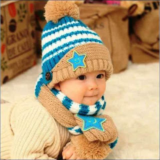 Gambar Topi Rajutan Anak Bayi