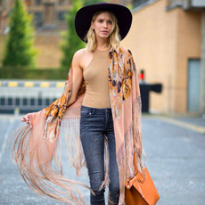 how to wear fringes, spring trend, elena perminova