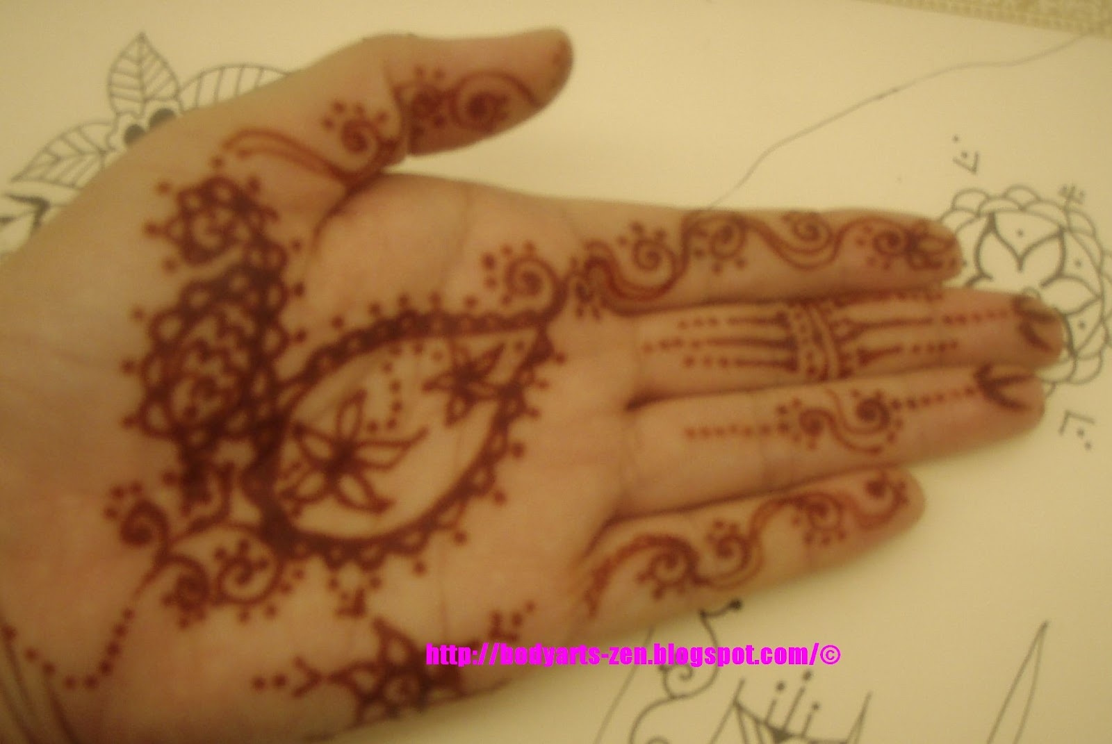 FACE PAINTING KL BODY ART HENNA TATTOO INAI HENNA Tattoo