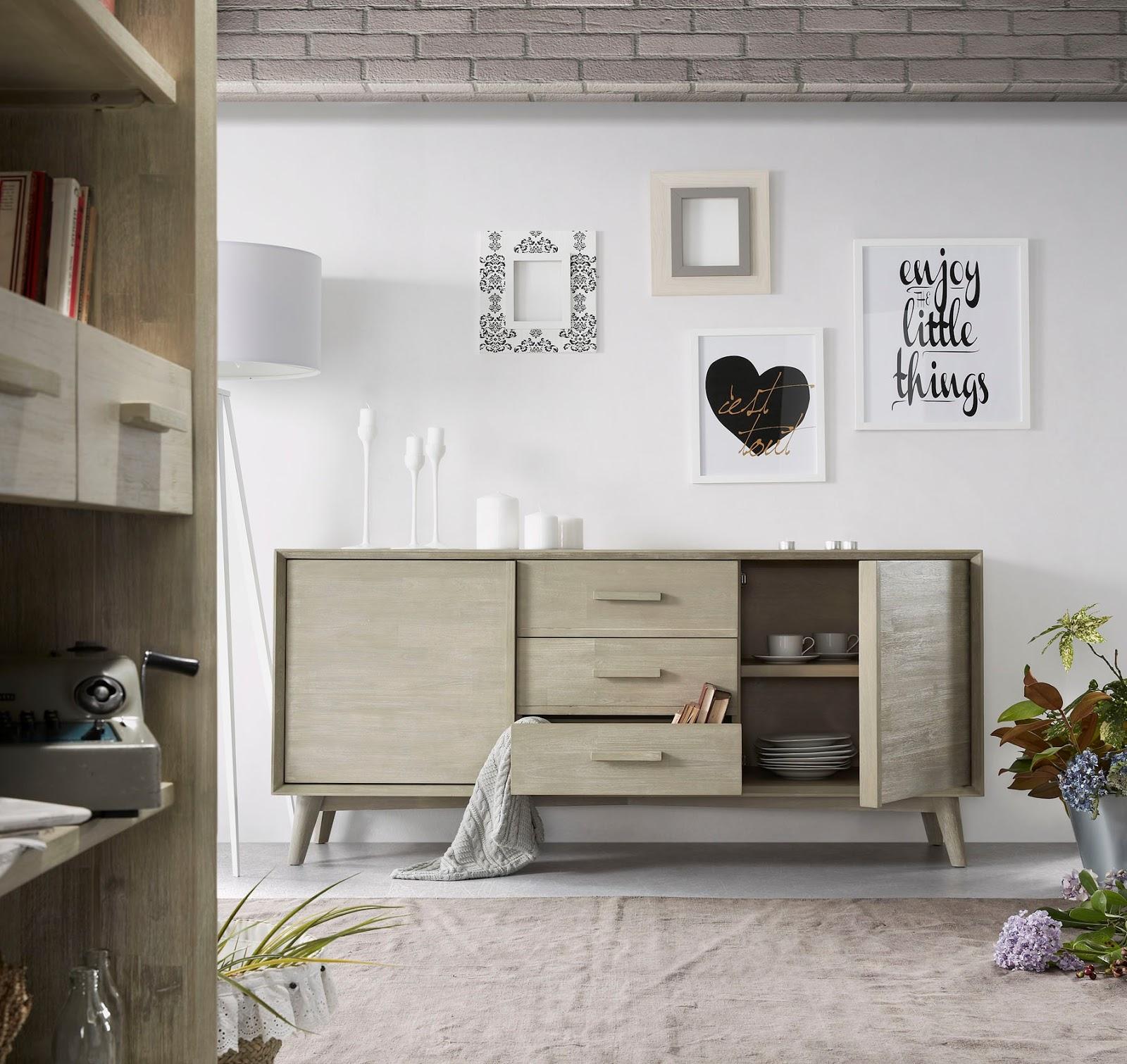 Muebles de Comedor APARADORES DE ESTILO NORDICO PARA EL COMEDOR