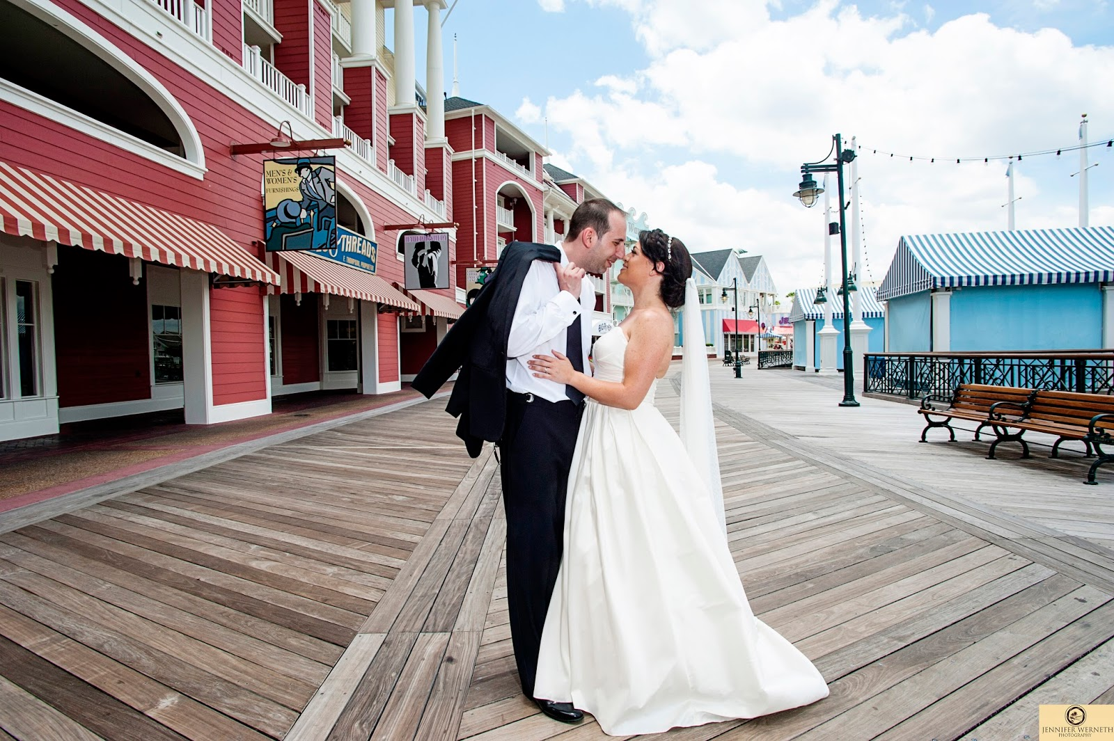 Wedding Photography At Disney World Seabreeze Point And Ariels With Mickey Minnie