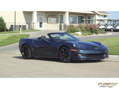 2013 Corvette Convertible at Purifoy Chevrolet