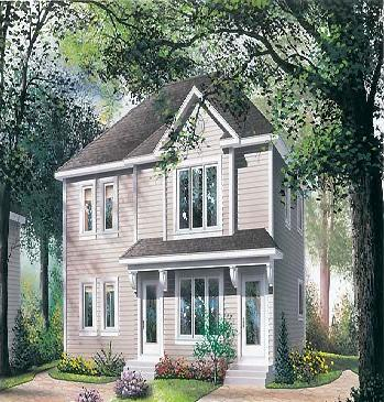 Awesome home design with plans small duplex home plans for Small duplex house