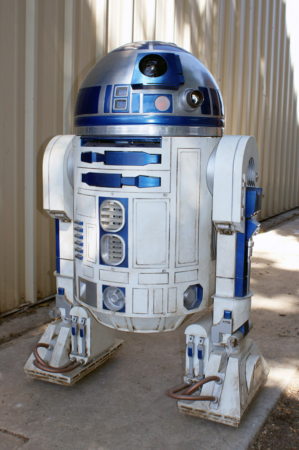 how to build r2d2 robot