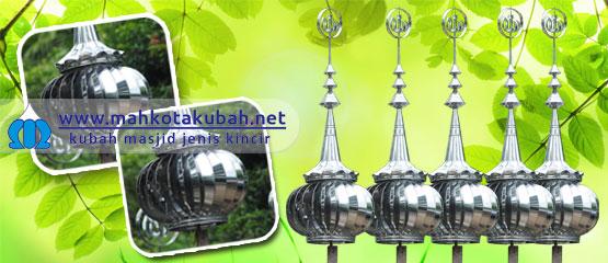 Tersedia untuk dipesan, kubah masjid kincir angin yang berputar