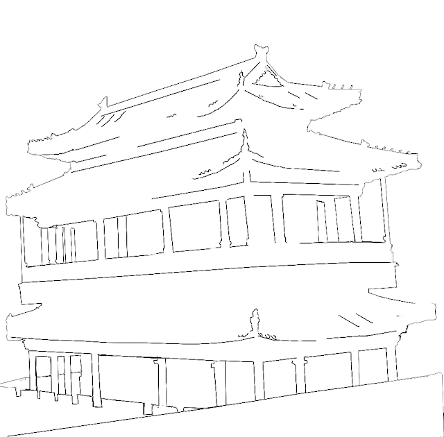 chinese style building in China