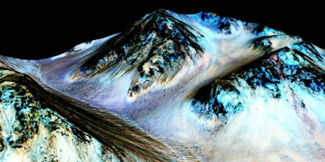 NASA Ungkap `Bukti Kehidupan` di Mars